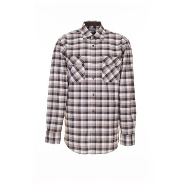 Größe 39/40 Herren Planam Hemden Countryhemd langarm stone kariert Modell 0483