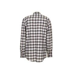Größe 41/42 Herren Planam Hemden Countryhemd langarm stone kariert Modell 0483