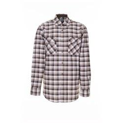 Größe 43/44 Herren Planam Hemden Countryhemd langarm stone kariert Modell 0483