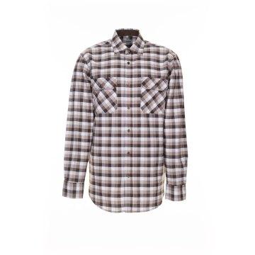 Größe 49/50 Herren Planam Hemden Countryhemd langarm stone kariert Modell 0483