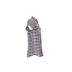 Größe 37/38 Herren Planam Hemden Countryhemd 1/4-Arm schwarz kariert Modell 0486