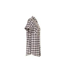 Größe 45/46 Herren Planam Hemden Countryhemd 1/4-Arm stone kariert Modell 0488
