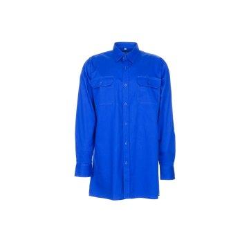 Größe 37/38 Herren Planam Hemden Köperhemd langarm mittelblau Modell 0407