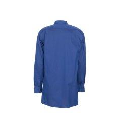 Größe 43/44 Herren Planam Hemden Köperhemd langarm mittelblau Modell 0407