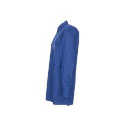 Größe 45/46 Herren Planam Hemden Köperhemd langarm mittelblau Modell 0407