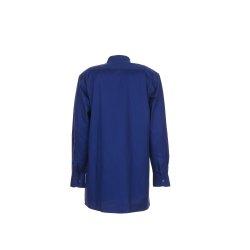 Größe 37/38 Herren Planam Hemden Köperhemd langarm dunkelblau Modell 0417