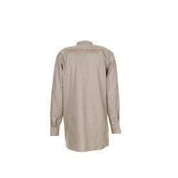 Größe 49/50 Herren Planam Hemden Köperhemd langarm khaki Modell 0409