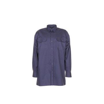 Größe 43/44 Herren Planam Hemden Köperhemd langarm grau Modell 0406