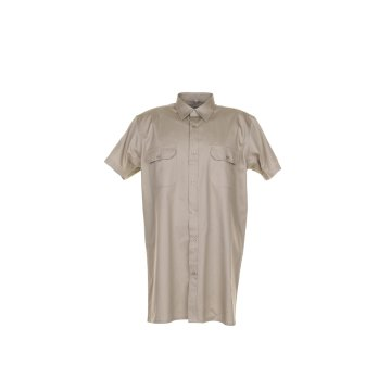 Größe 39/40 Herren Planam Hemden Köperhemd 1/4-Arm khaki Modell 0412