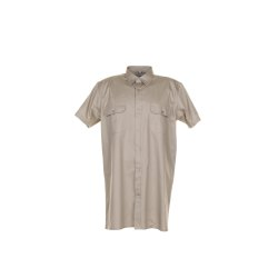 Größe 45/46 Herren Planam Hemden Köperhemd 1/4-Arm khaki Modell 0412