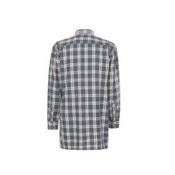 Größe 47/48 Herren Planam Hemden Flanellhemd 2001 grün Modell 0452