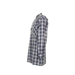 Größe 49/50 Herren Planam Hemden Flanellhemd 2001 grün Modell 0452