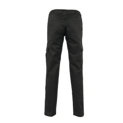 Größe 34 Damen Planam Casual Easy Damen Bundhose schwarz Modell 3005