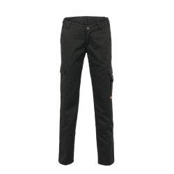 Größe 40 Damen Planam Casual Easy Damen Bundhose schwarz Modell 3005