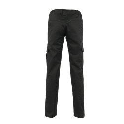 Größe 42 Damen Planam Casual Easy Damen Bundhose schwarz Modell 3005