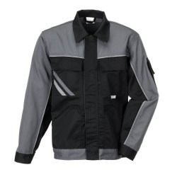 Größe 54 Herren Planam Highline Bundjacke schwarz schiefer zink Modell 2710