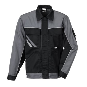 Größe 53 Herren Planam Highline Bundjacke schwarz schiefer zink Modell 2710