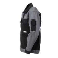 Größe 61 Herren Planam Highline Bundjacke schwarz schiefer zink Modell 2710