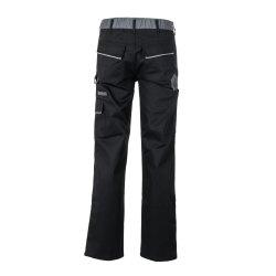 Größe 64 Herren Planam Highline Bundhose schwarz schiefer zink Modell 2711