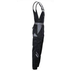 Größe 94 Herren Planam Highline Latzhose schwarz schiefer zink Modell 2712