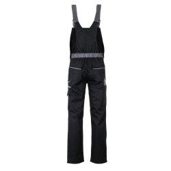 Größe 98 Herren Planam Highline Latzhose schwarz schiefer zink Modell 2712