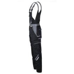 Größe 118 Herren Planam Highline Latzhose schwarz schiefer zink Modell 2712
