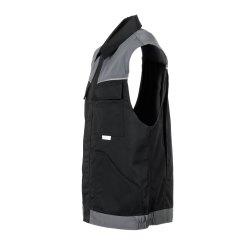 Größe XS Herren Planam Highline Weste schwarz schiefer zink Modell 2713