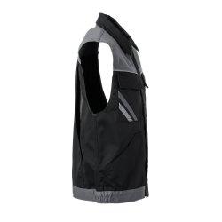 Größe M Herren Planam Highline Weste schwarz schiefer zink Modell 2713