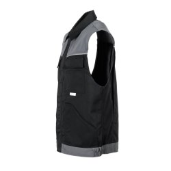 Größe XXXL Herren Planam Highline Weste schwarz schiefer zink Modell 2713