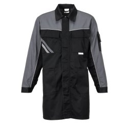 Größe 38 Herren Planam Highline Berufsmantel schwarz schiefer zink Modell 2716