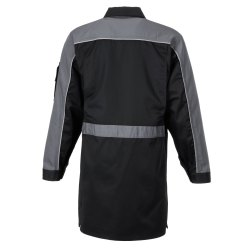Größe 70 Herren Planam Highline Berufsmantel schwarz schiefer zink Modell 2716