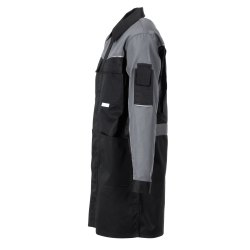 Größe 94 Herren Planam Highline Berufsmantel schwarz schiefer zink Modell 2716