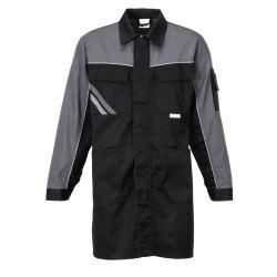 Größe 118 Herren Planam Highline Berufsmantel schwarz schiefer zink Modell 2716