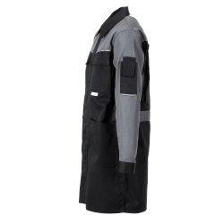 Größe 61 Herren Planam Highline Berufsmantel schwarz schiefer zink Modell 2716