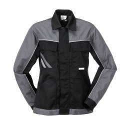 Größe 34 Damen Planam Highline Damen Bundjacke schwarz schiefer zink Modell 2717