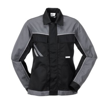 Größe 54 Damen Planam Highline Damen Bundjacke schwarz schiefer zink Modell 2717