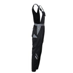 Größe 34 Damen Planam Highline Damen Latzhose schwarz schiefer zink Modell 2719