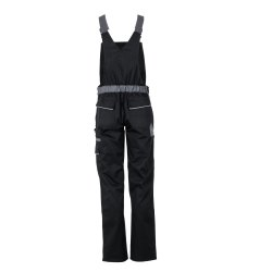 Größe 42 Damen Planam Highline Damen Latzhose schwarz schiefer zink Modell 2719