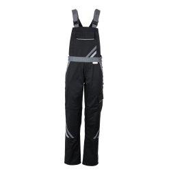 Größe 44 Damen Planam Highline Damen Latzhose schwarz schiefer zink Modell 2719