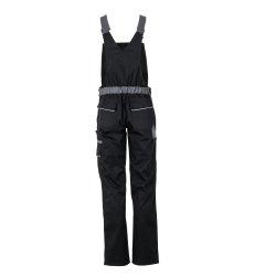 Größe 46 Damen Planam Highline Damen Latzhose schwarz schiefer zink Modell 2719