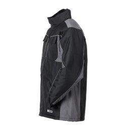 Größe 4XL Unisex Planam Highline Winter Winterjacke schwarz schiefer zink Modell 2720
