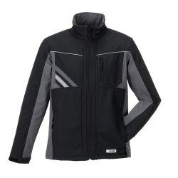 Größe L Unisex Planam Highline Winter Softshelljacke schwarz schiefer zink Modell 2721