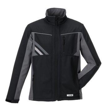 Größe M Unisex Planam Highline Winter Softshelljacke schwarz schiefer zink Modell 2721