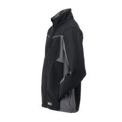 Größe XXXL Unisex Planam Highline Winter Softshelljacke schwarz schiefer zink Modell 2721