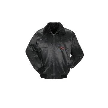 Größe 4XL Herren Planam Outdoor Winter Gletscher Pilotenjacke schwarz Modell 0334