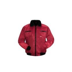 Größe M Herren Planam Outdoor Winter Gletscher Pilotenjacke rot Modell 0338