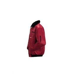 Größe XXL Herren Planam Outdoor Winter Gletscher Pilotenjacke rot Modell 0338