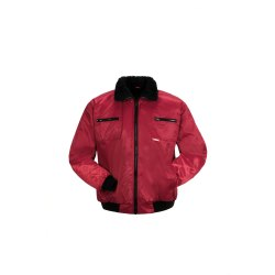 Größe XXXL Herren Planam Outdoor Winter Gletscher Pilotenjacke rot Modell 0338