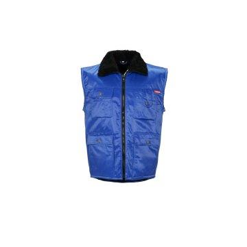 Größe L Herren Planam Outdoor Winter Gletscher Pilotenweste kornblau Modell 0340