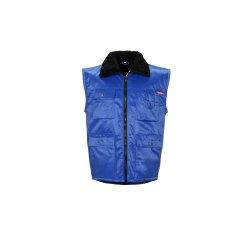 Größe XL Herren Planam Outdoor Winter Gletscher Pilotenweste kornblau Modell 0340